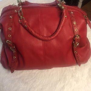 Pretty light red Steve Madden purse